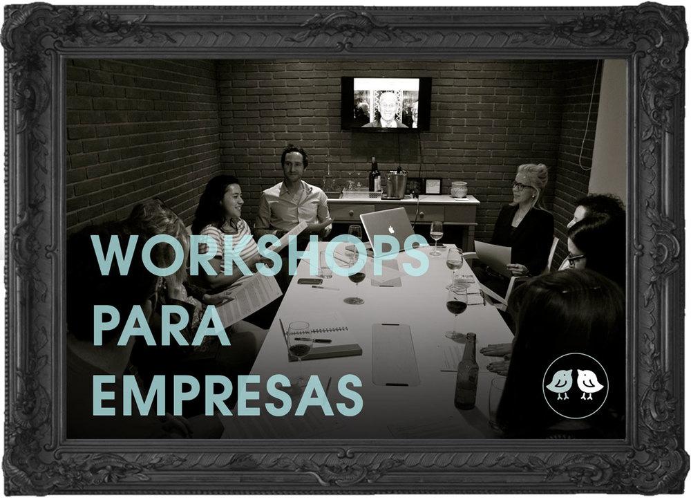 Workshops para Empresas - Estúdio447