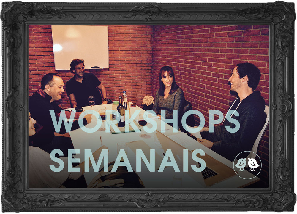 Workshop semanais do Estúdio447