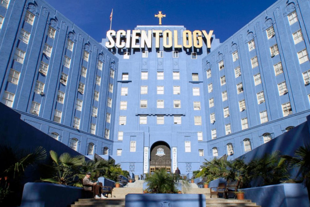 The Church of Scientology building on Fountain Avenue in Los Angeles.
