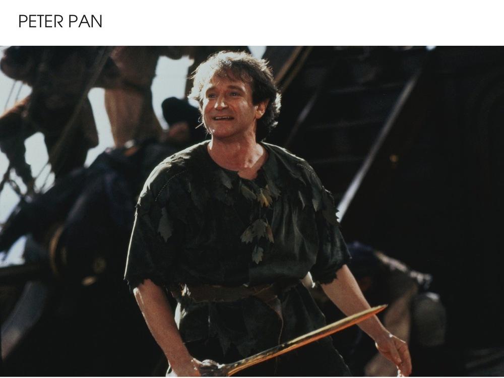 Robin Williams Peter Pan