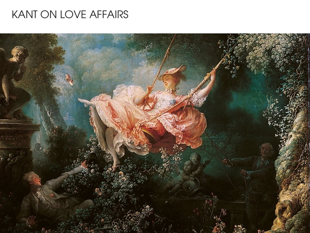 Kant on love affairs