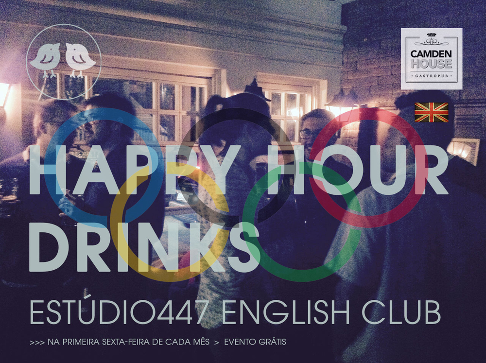 Estúdio447 English Club Happy Hour Drinks