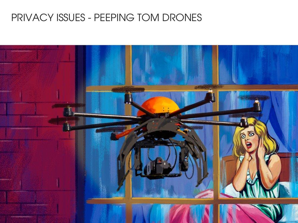 Peeping Tom Drone
