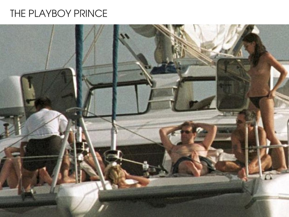 Prince Andrew - The Playboy Prince