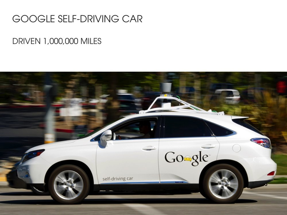 Google self driving cars - AI