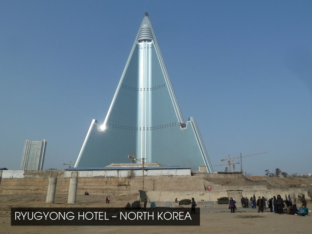 Ryugyong Hotel - North Korea