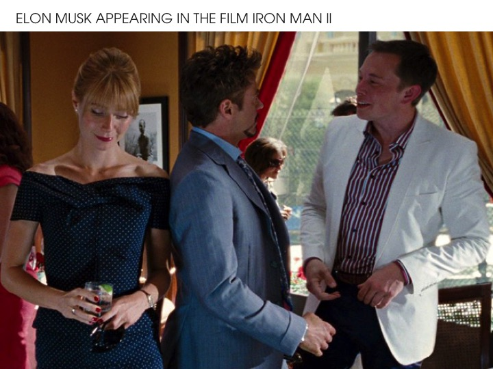 Elon Musk Iron Man 2