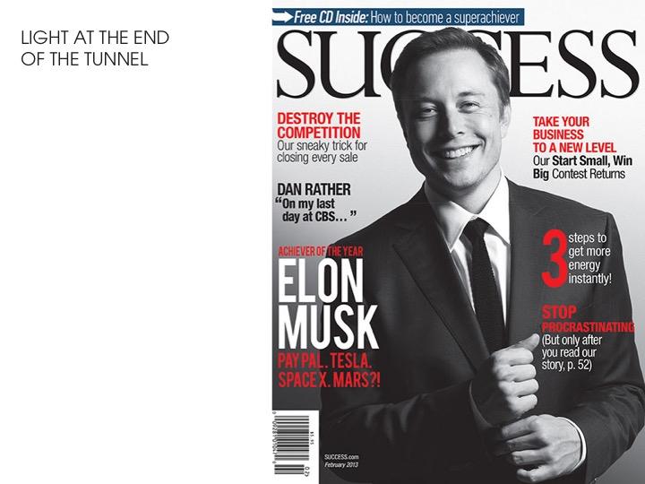 Elon Musk - Success
