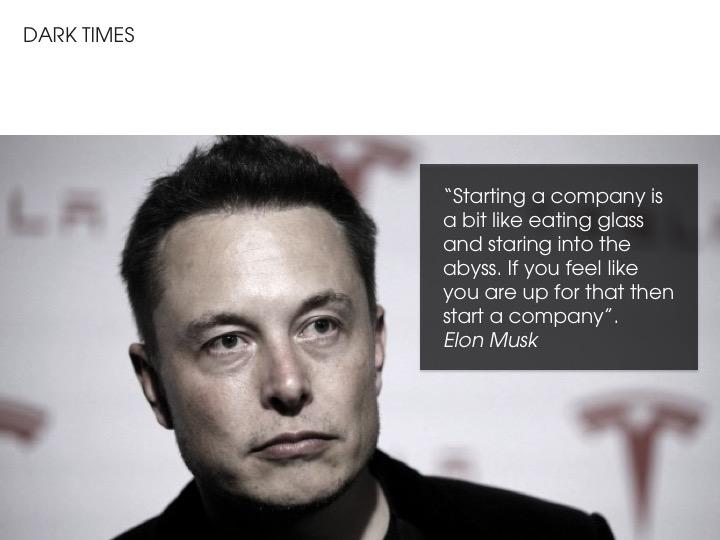 Elon Musk - Dark Times