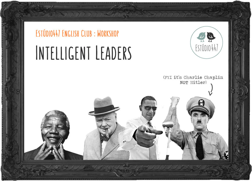INTELLIGENT LEADERS - Workshop de inglês