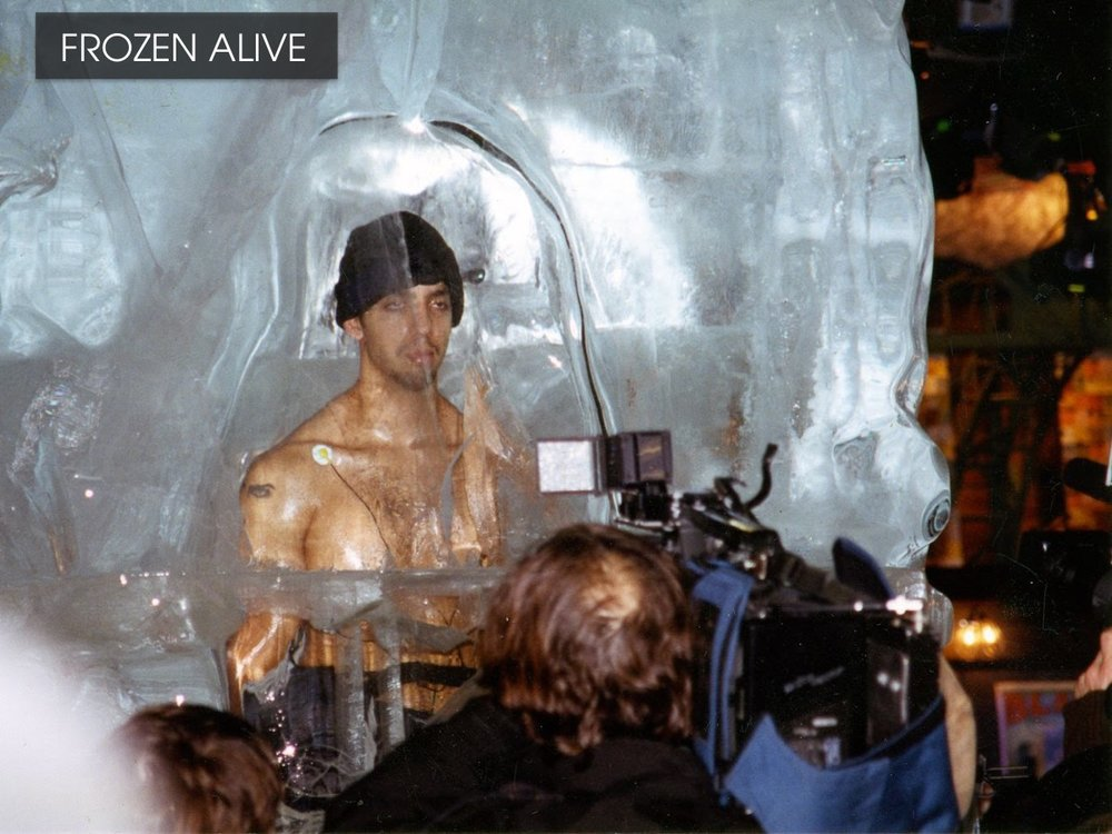 Frozen Alive - David Blaine