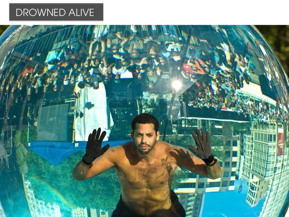 Drowned Alive - David Blaine