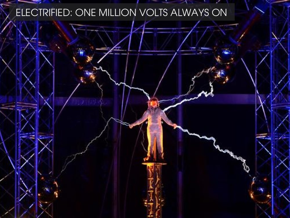 Electrified - David Blaine