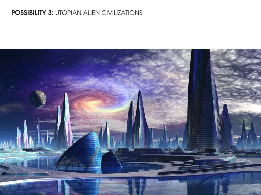 Utopian Alien Civilization