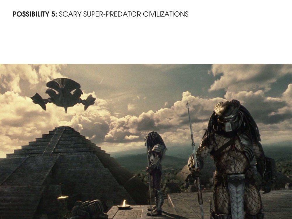 Super-predator Civilization