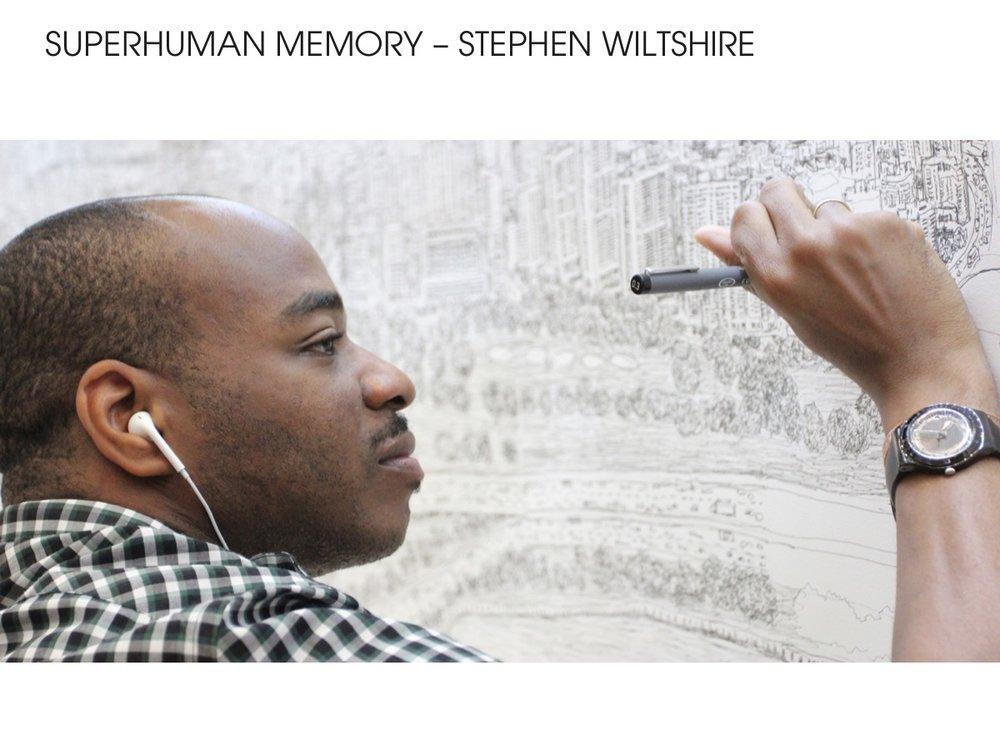 Stephen Wiltshire - Superhuman Memory