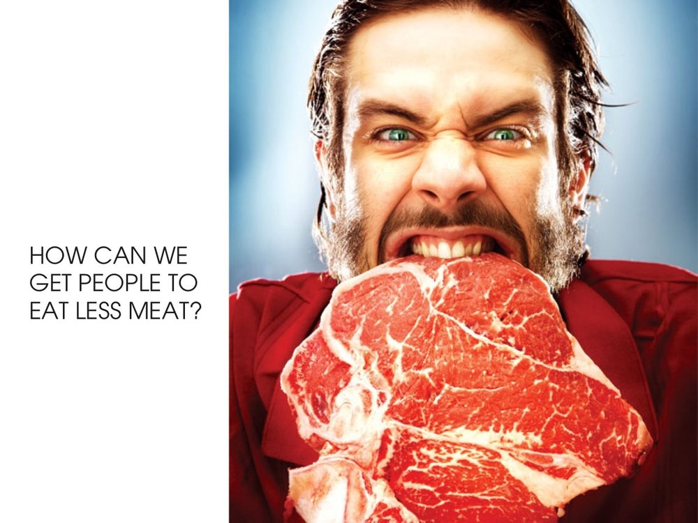 How can we get people to eat less meat?