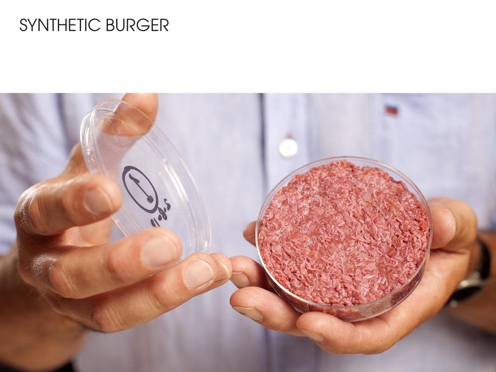 Synthetic burgers
