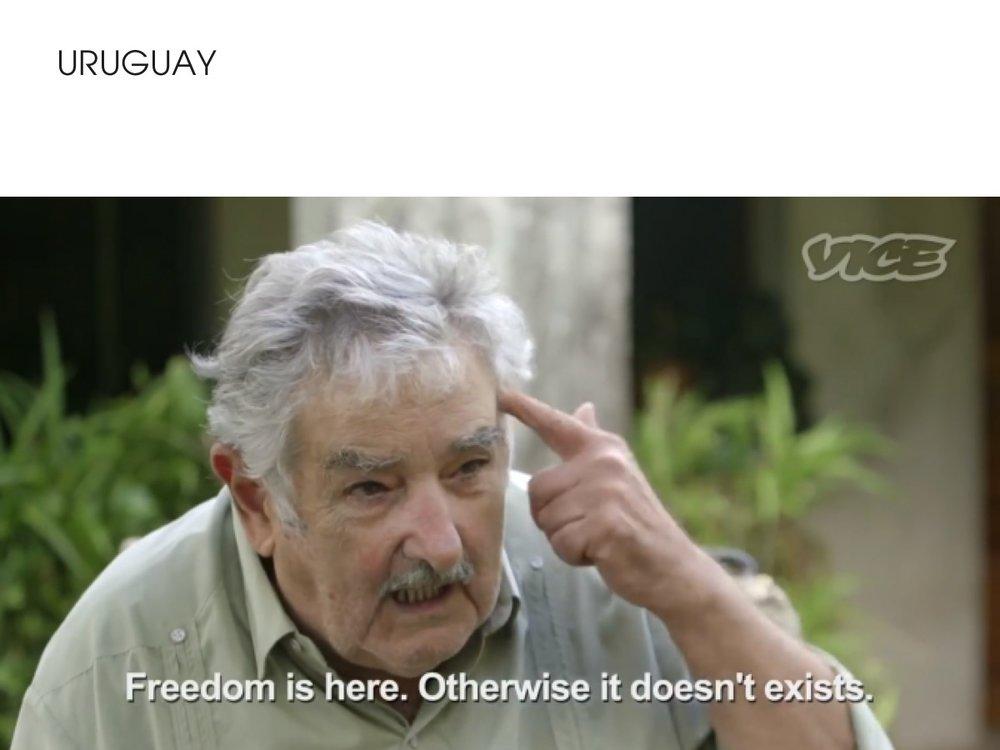 Uruguay - cannabis legalisation