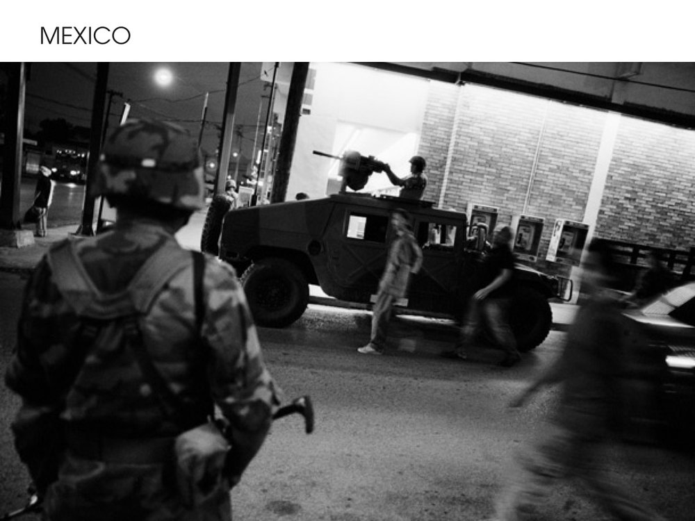 Mexico War on Drugs