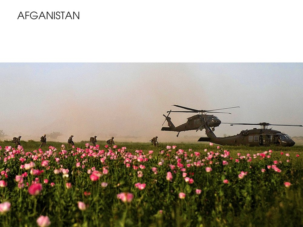 Afganistan - War on Drugs