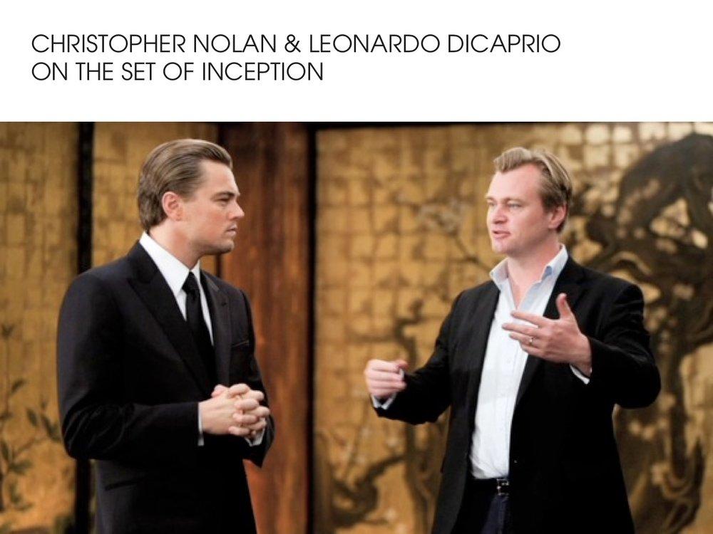 Christopher Nolan & Leonardo