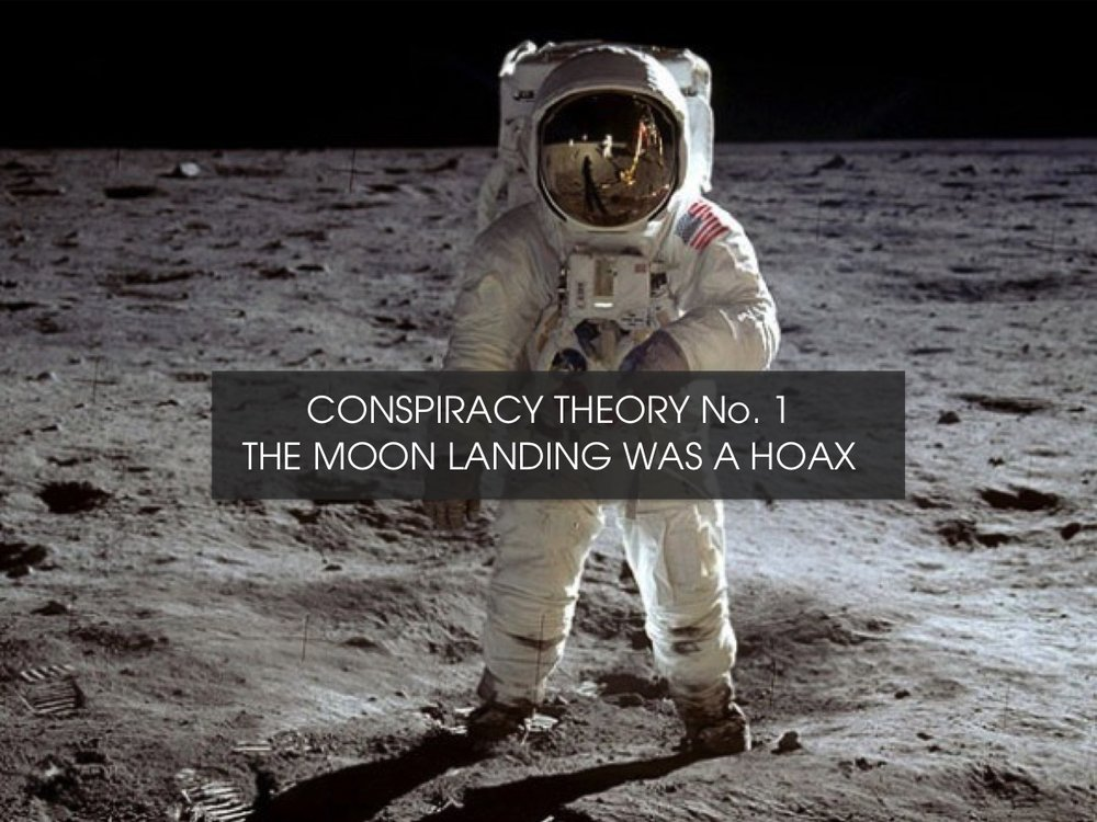 Conspiracy Theory : The moon landing was a hoax