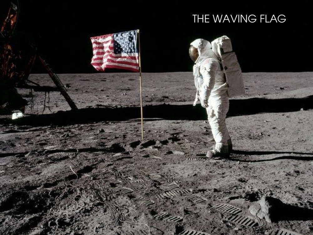 Conspiracy Theory : The waving Flag