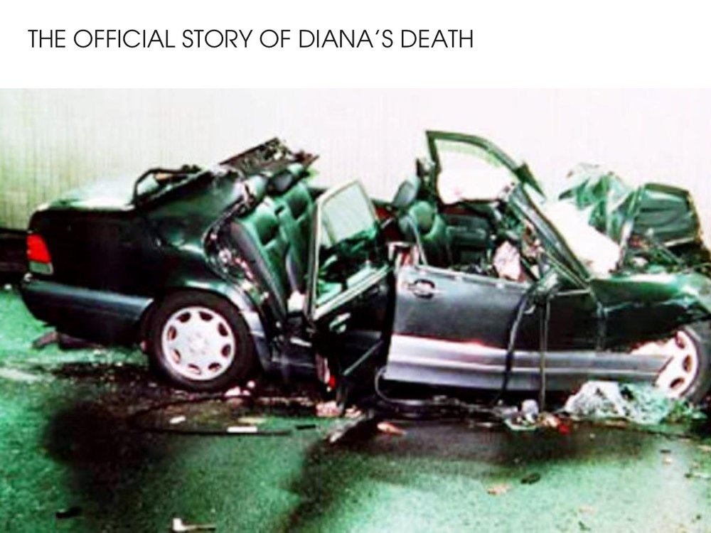 The official story of Princess Diana's death