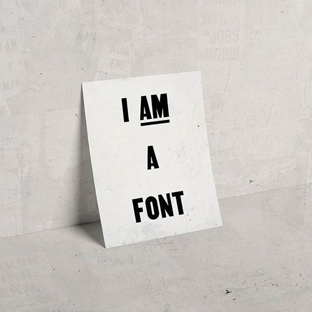 Don't overlook the importance of a good font! Photo by @tre.seals and stunning site @vocaltype.co  specialising in the recreation of typography  #squarespacecommunity