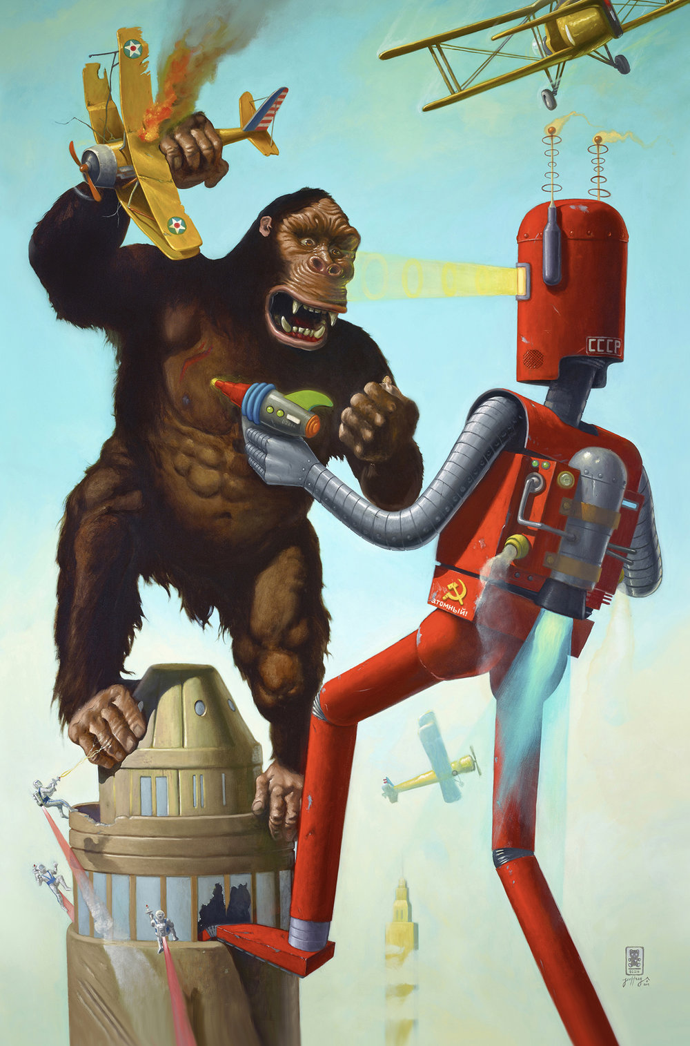 King Kong vs The Atomic Robot
