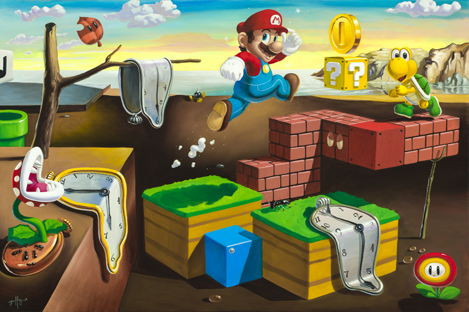 The Persistence Of Mario II (Piranha Plant)