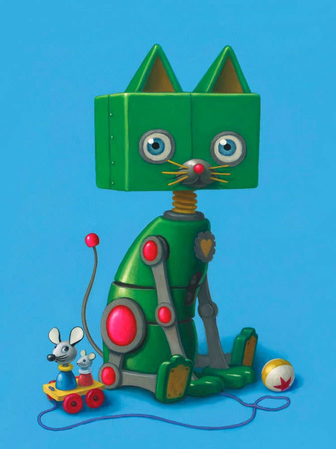 Zoey the Robot Kitty