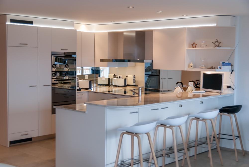 Schön Stunning Küche Mit Bar Pictures   Home Design Ideas   Motormania.us | {U