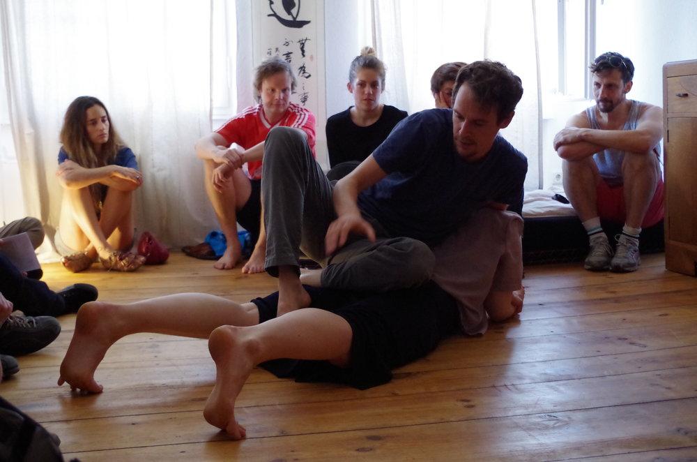 © Ariane Handrock. dancers: Leah Marojevi ć  ,Christopher Owen