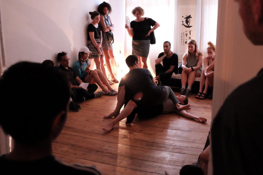 © Franziskus Nakajima. dancers: Leah Marojević, Christopher Owen