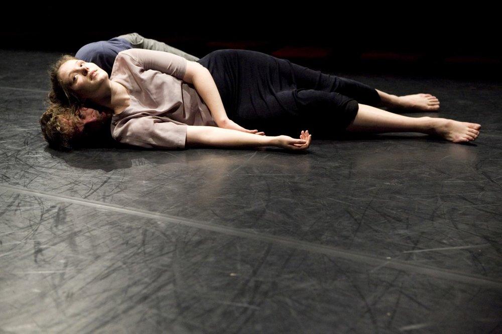 © Theater Roxy Basel. dancers:Leah Marojević,Christopher Owen