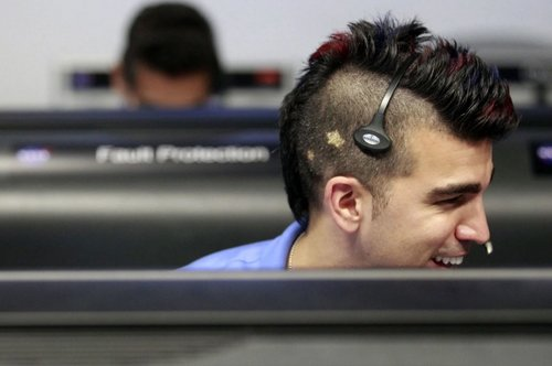 """NASA Mohawk Guy"" Bobak Ferdowsi - scientist, role model, heartbreaker"