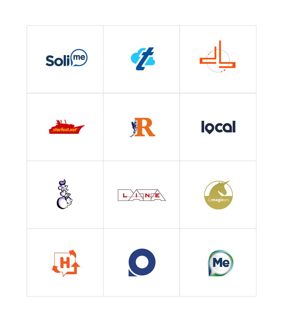 Various logo designs ©Douglas Lussier