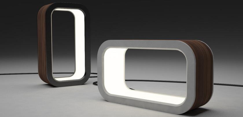 The original Looplamp design, by  Samantha Alaimo