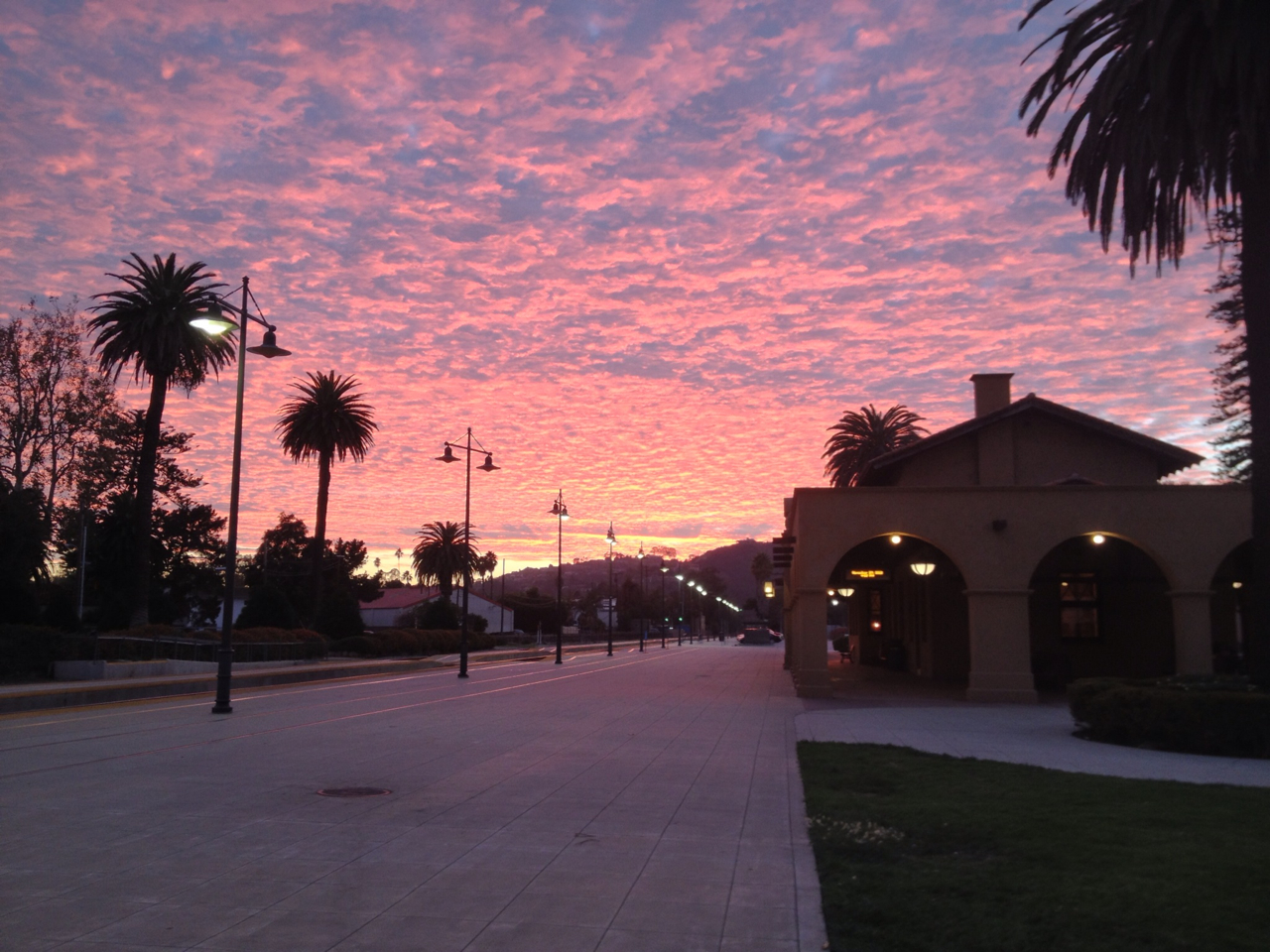 Santa Barbara Train Station, CA