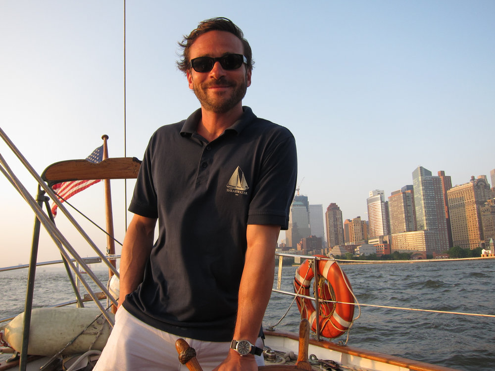 Your Captain and Guide, David Critchell