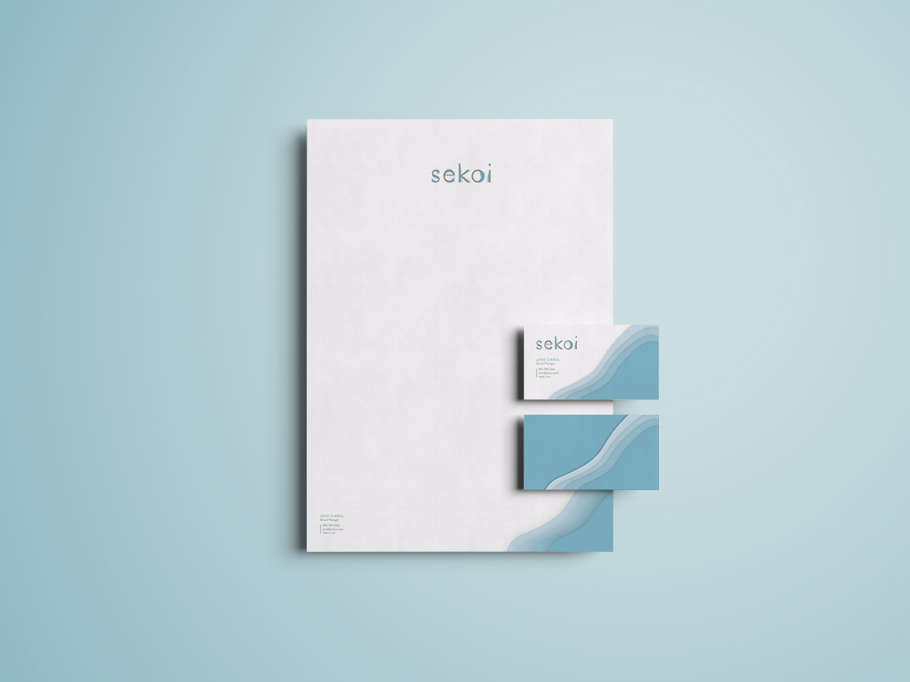 high end stationery design