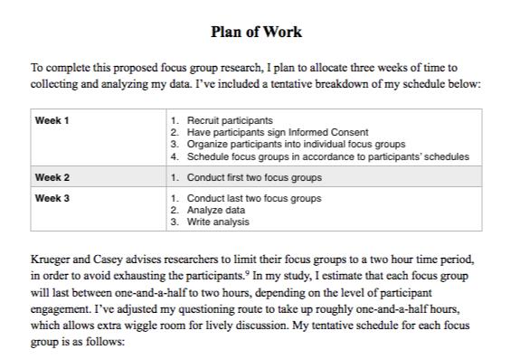Focus Group Pilot Study And Proposal Bonnie Chan