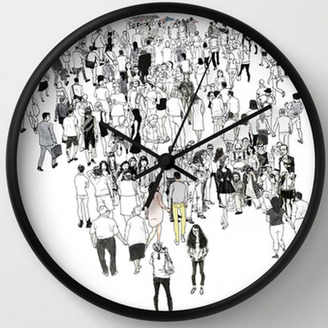 Limited edition clocks at  http://bit.ly/1zvRn3q  @ezekielclothing