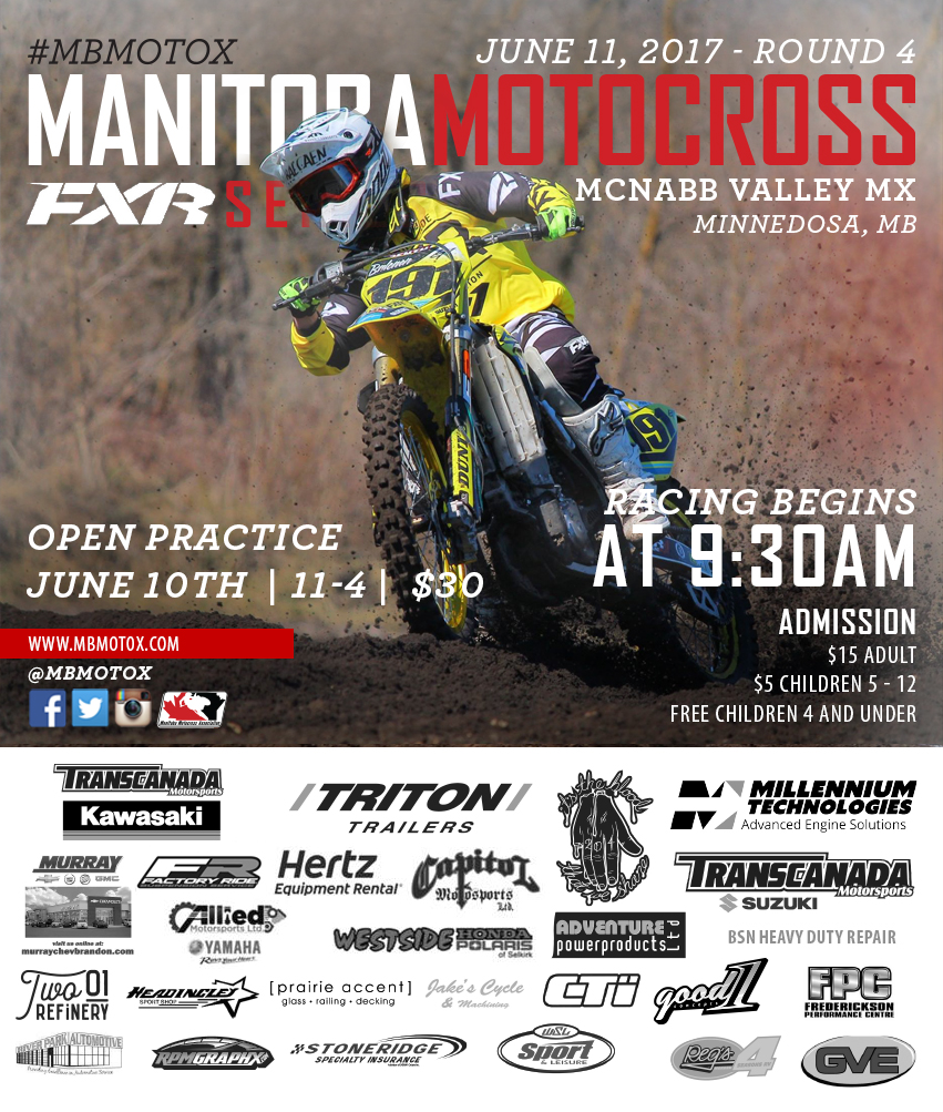 NcNabb Valley MX Minnedosa Manitoba