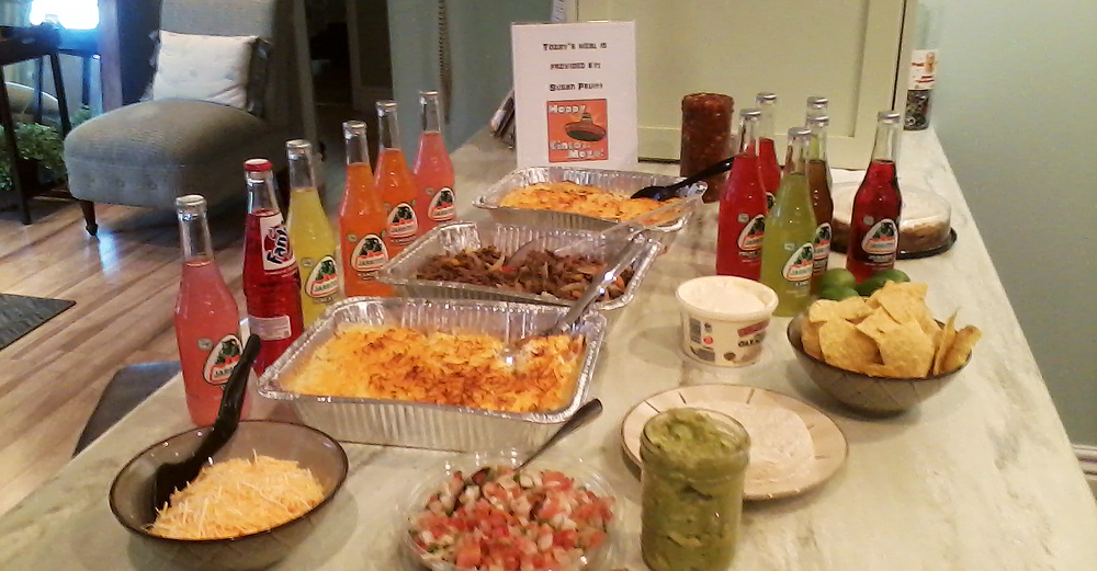 May got off to a festive start with this Cinco de Mayo themed dinner that Susan Pruitt graciously provided the Fort Smith Family Room with!