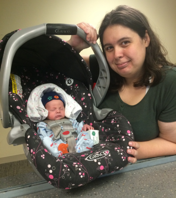Mrs. April Betz stayed with the NWA Family Room for 10 days in May while and her son Wayne Ray Betz (born 5/15/2016) was in the NICU. Thanks April and Wayne for stopping to say goodbye & congrats on finally going home!