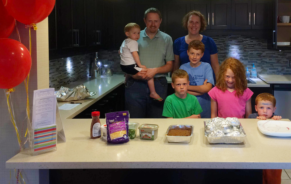 The Tarnasky family, from the Church of Jesus Christ of Latter-Day Saints, provided the NWA Family Room Share-A-Meal for Monday, July 18th!