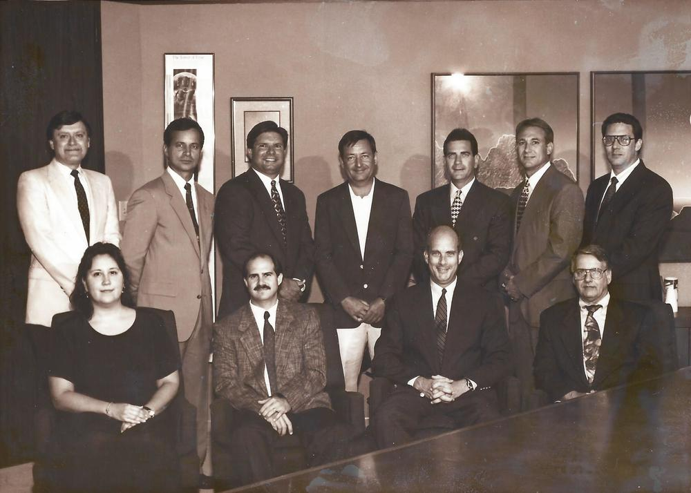 SHREVEPORT gEOLOGICAL SOCIETY bOARD, 1995
